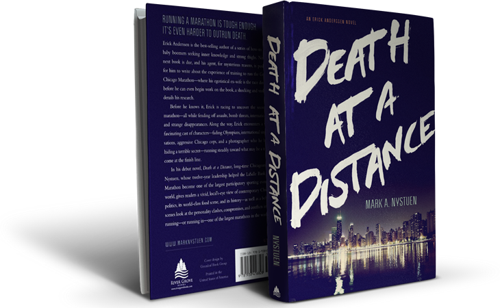 Death At A Distance Book Covers